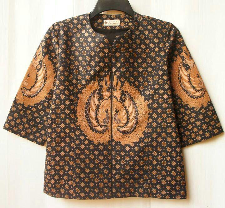 Blazer batik truntum gurdo