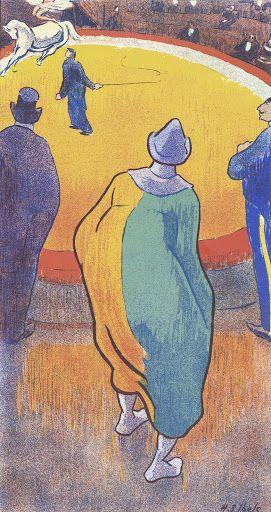 Henri Gabriel Ibels (1867 - 1936), At the Circus (Au cirque), Van Gogh Museum, Amsterdam (Vincent van Gogh Foundation).