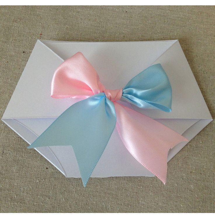 Gender Reveal Diaper Shaped Baby Shower Invitation - Luxe Collection (Die Cut).