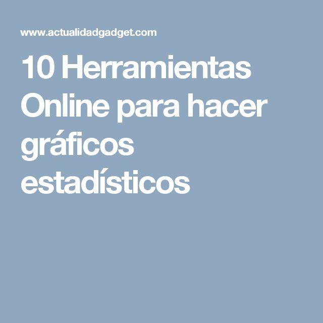 10 Herramientas Online para hacer gráficos estadísticos