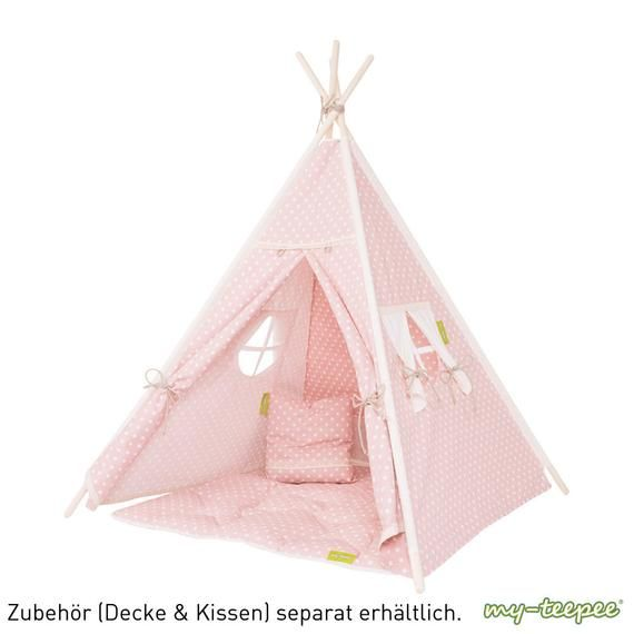 My Teepee Play Tent Made In Germany Natural Materials Wooden Sticks From Aspe Cover 100 Cotton Height 4 9 Ft 150 Cm Festa Cabana Artesanato