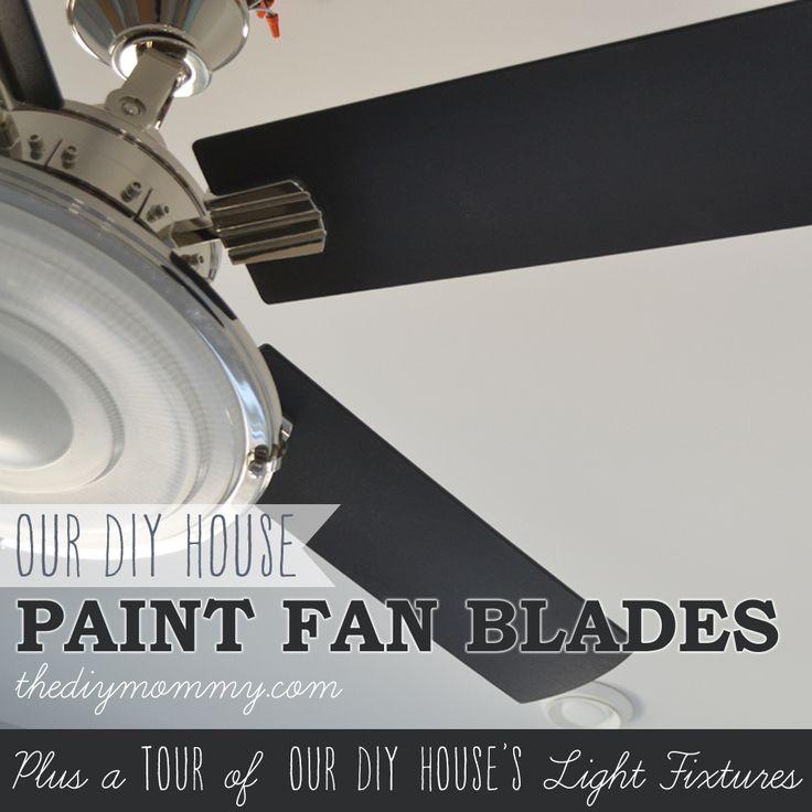Cómo pintar Aspas como un profesional (+ Un paseo por luminarias de nuestra DIY House)