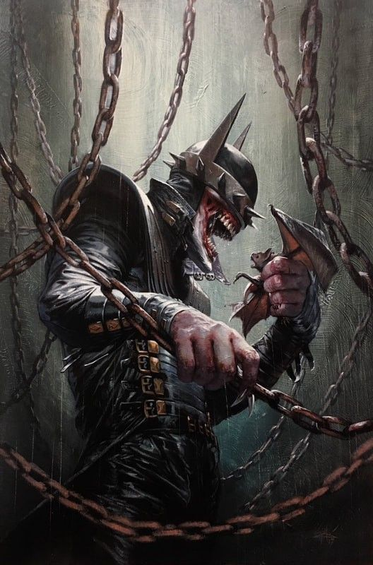 Dark Nights: Metal #5 (2017) Bulletproof Comix Exclusive Variant Cover by Gabriele Dell'Otto
