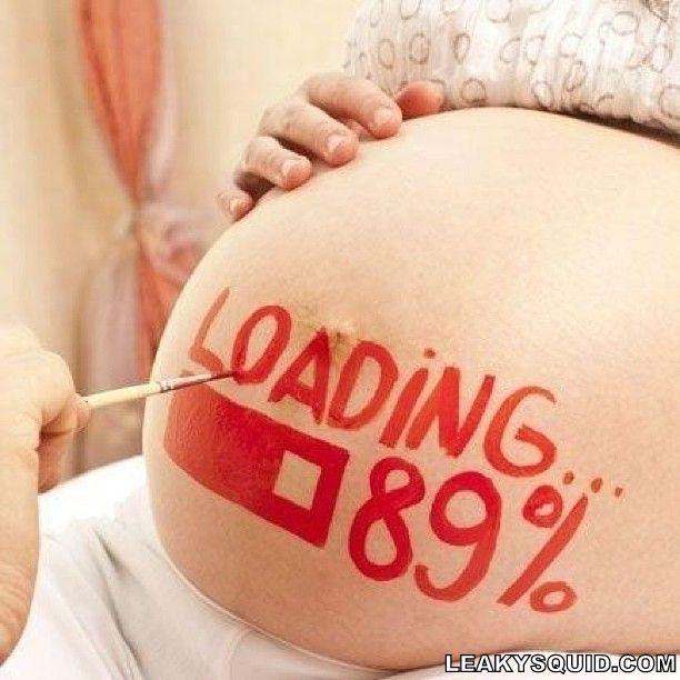 Creative pregnant picture