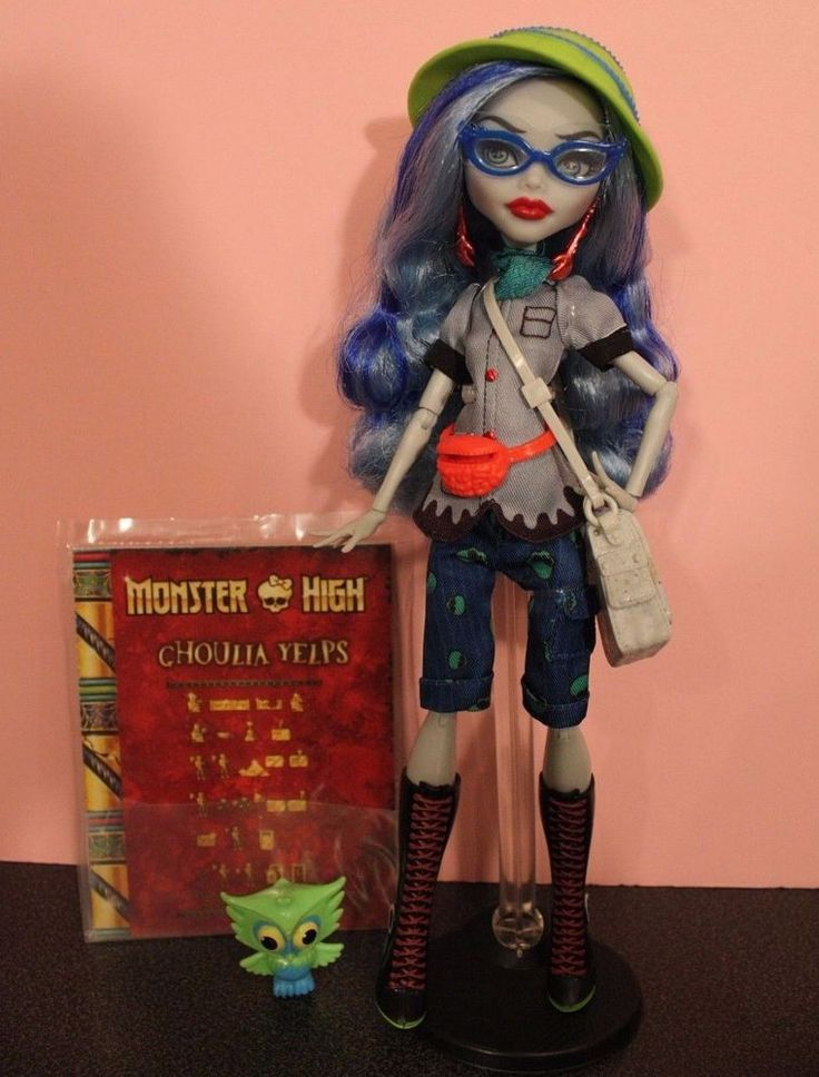 Monster High Ghoulia Yelps Mattel Shop exclusive 2 pack SDCC 2017 euc #Mattel