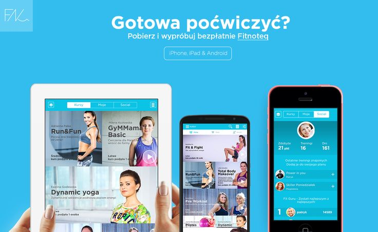 Fitness ? Najlepszy od Fitnoteq. Aplikacja na iphone, ipad i android. Pobierz i wypróbuj bezpłatnie z http://fitnoteq.com #fitnoteq