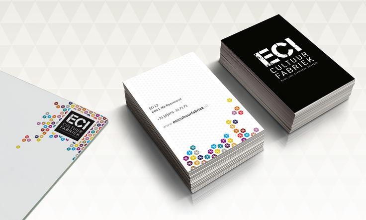 Logo en corporate identity: ECI Cultuurfabriek