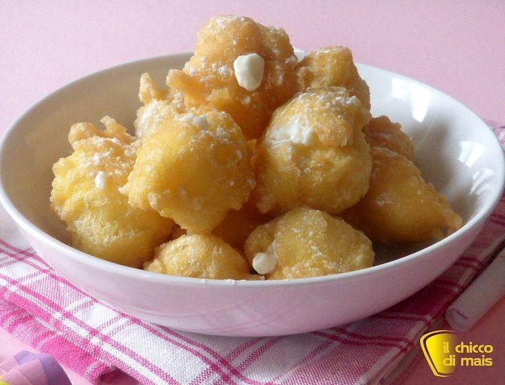 Castagnole ripiene alla ricotta ricetta di Carnevale il chicco di mais