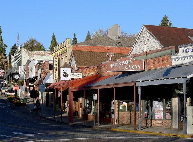 Grass Valley, CA -- An hour or so outside of Sacramento, neighbors Nevada City.