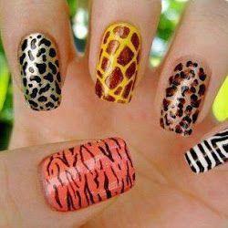 25 Diseños de Uñas de Animales   Jirafa, Vaca, Leopardo, Cebra