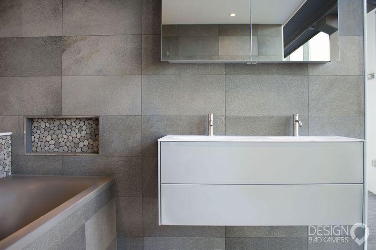 15 pins over dubbele wastafel badkamer die je moet zien dubbel wastafelmeubel dubbel - Eigentijdse badkamer grijs ...