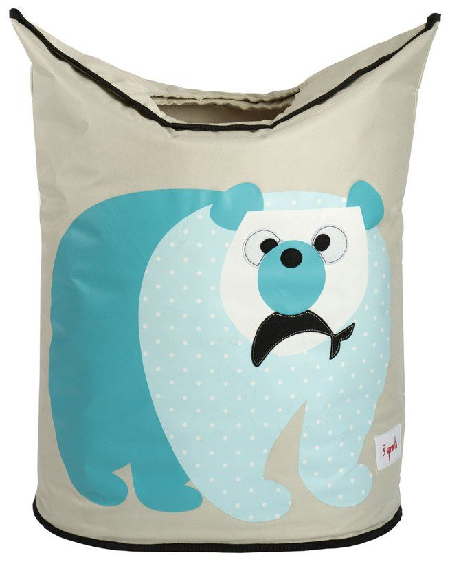 3 Sprouts Laundry Hamper - Polar Bear - Best Price