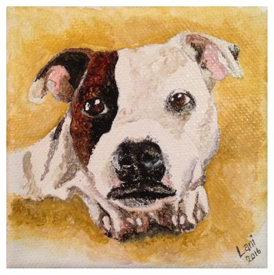 'Molly Dog I' Part of Triptych