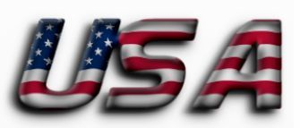 Image result for american flag text