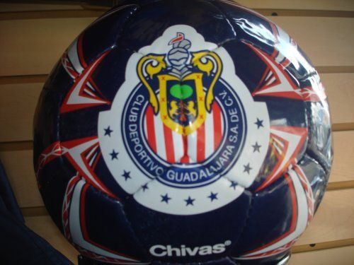 CLUB CHIVAS DEL GUADALAJARA OFFICIAL SOCCER BALL by Rhinox. $34.99.