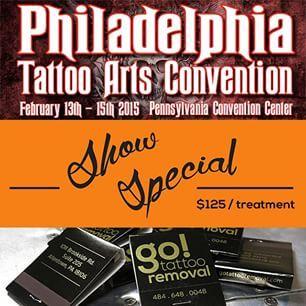 2015 Philadealphia Tattoo Convention | Laser Tattoo Removal