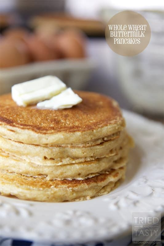 Whole Wheat Buttermilk Pancakes Recipe With Images Whole Wheat Pancakes Wheat Pancakes Recipes