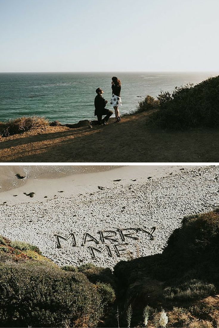 As soon as she saw the writing in the sand, she knew what was about to happen. <3