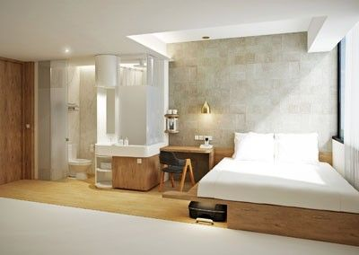 Best 25 modern hotel room ideas on pinterest modern for Design budget hotel salinenparc 0 sterne