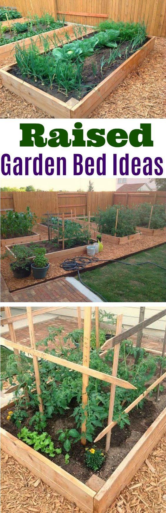 Raised Garden Bed Ideas, Garden Box Ideas, Gardening Ideas