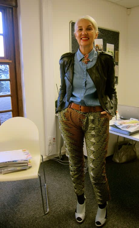 Elle Sa Editor Jackie Burger This Woman Is Fierce And Gorgeous Too Fashion Fashion Fashion