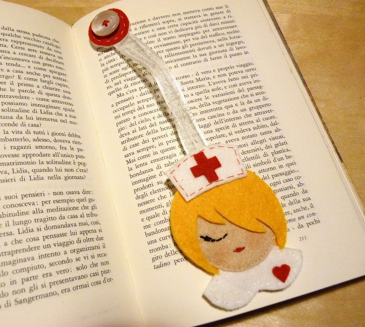 Segnalibro infermiera
