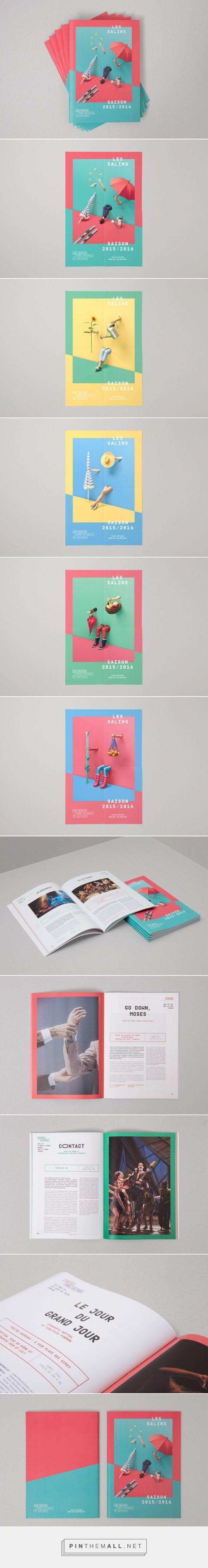 四季主題的表演刊物設計 | MyDesy 淘靈感... - a grouped images picture - Pin Them All: