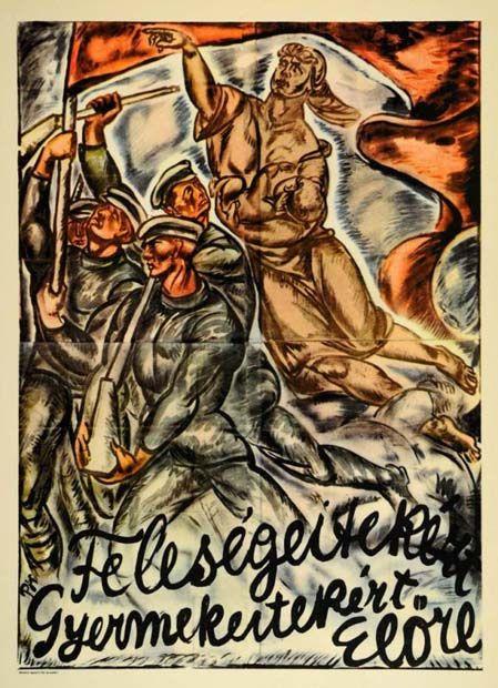 Bertalan Pór, Poster,1919