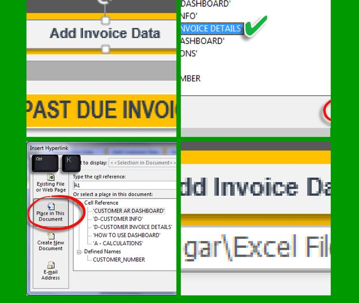 How to Create a Button Link in Excel \u2013 Link Between Worksheets - spreadsheet compare 2010 download