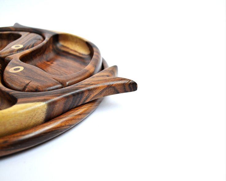 Tabletts - Schmuckplatte, Holzschüssel, Hölzerne Snackplatt - ein Designerstück von Omar-Handmade bei DaWanda
