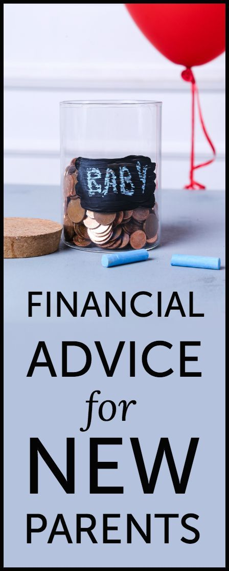Financial advice for new parents (print off these tips and give them at a baby shower!)