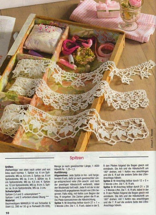 Crochet: CROCHET EDGING