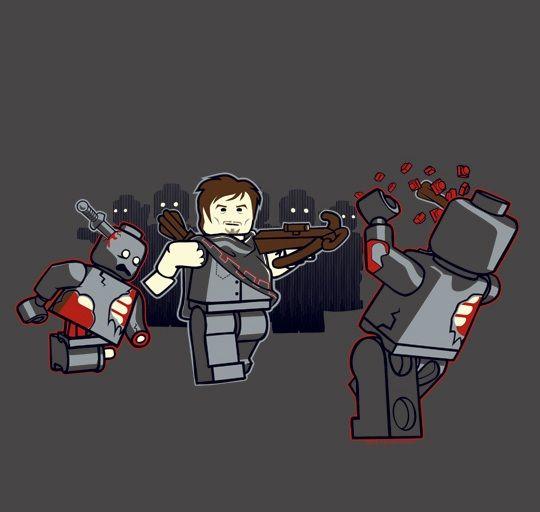 lego d day zombie