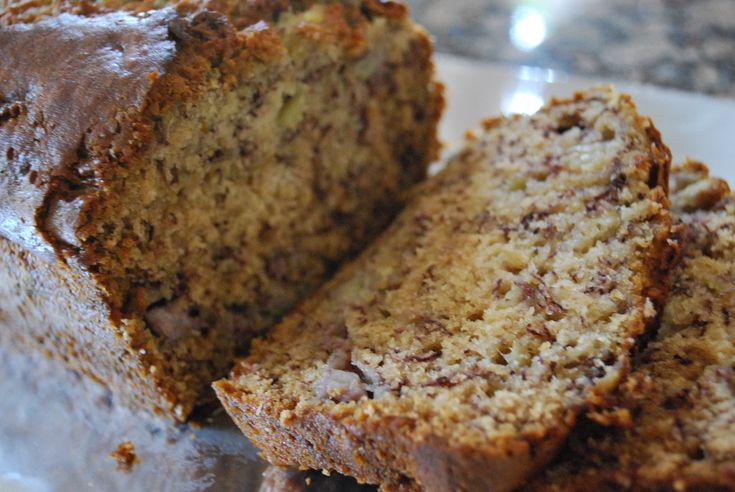 Super easy standard banana bread recipe - added a little baking power. Turned out great! Tried it and loved it!