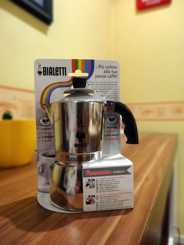 our Bialetti Fiammetta, absolutely love it :)