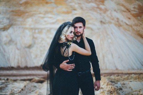 Гармония черного: годовщина Андрея и Ирины