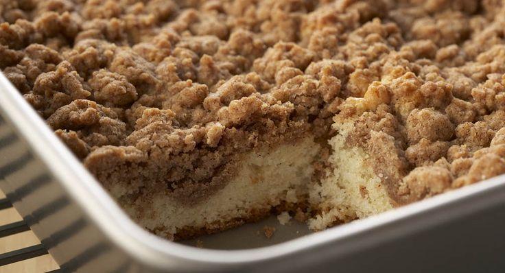 Join me for breakfast Christmas morning; Cinnamon Crumb Cake