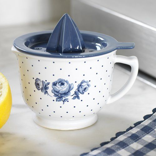 Katie Alice Vintage Indigo Lemon Juicer