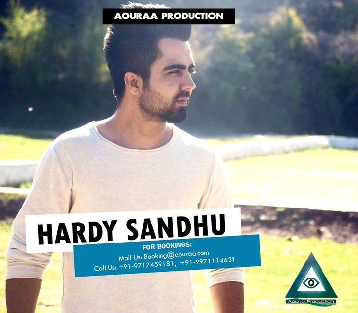 "Soothing, Plesant and the loving voice...one of its own kind...that just describe ""Hardy sandhu"" Make your upcoming festival celebrations, weddings and DJ parties a golden memory through his presence.  For Bookings, contact us at: booking@aouraa.com #Aouraa #HardySandhu #ExclusiveArtist contact no. 9717459181"