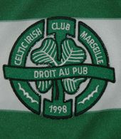 Celtic Irish Club Marseille  France. Match worn jersey. Club formed in 1997, with roots in the Irish Pub O'Brady's from Marseille. The club has several amateur football teams, and also a handball team