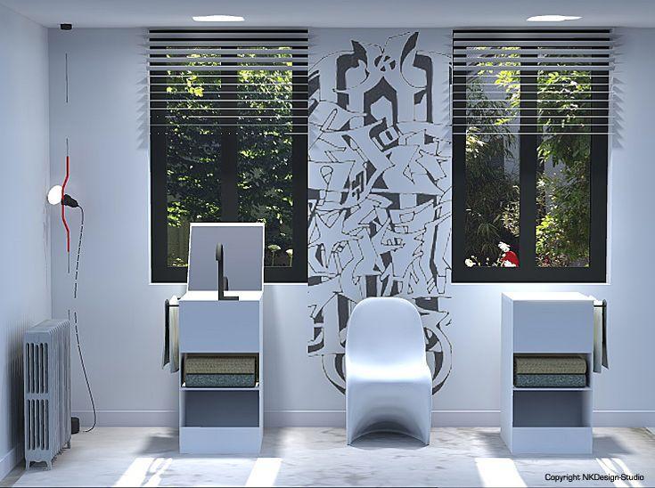 """Concept """"Solo""""  #nkdsmtp #nkdesignstudio #3d #interieur #amenagement #design #architecte #montpellier #renovation #decoration"""
