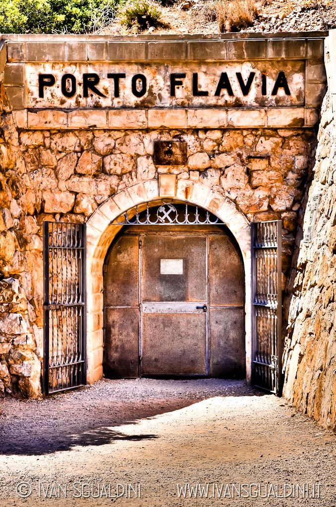 Porto Flavia, Sardinia, Italy by Ivan Sgualdini