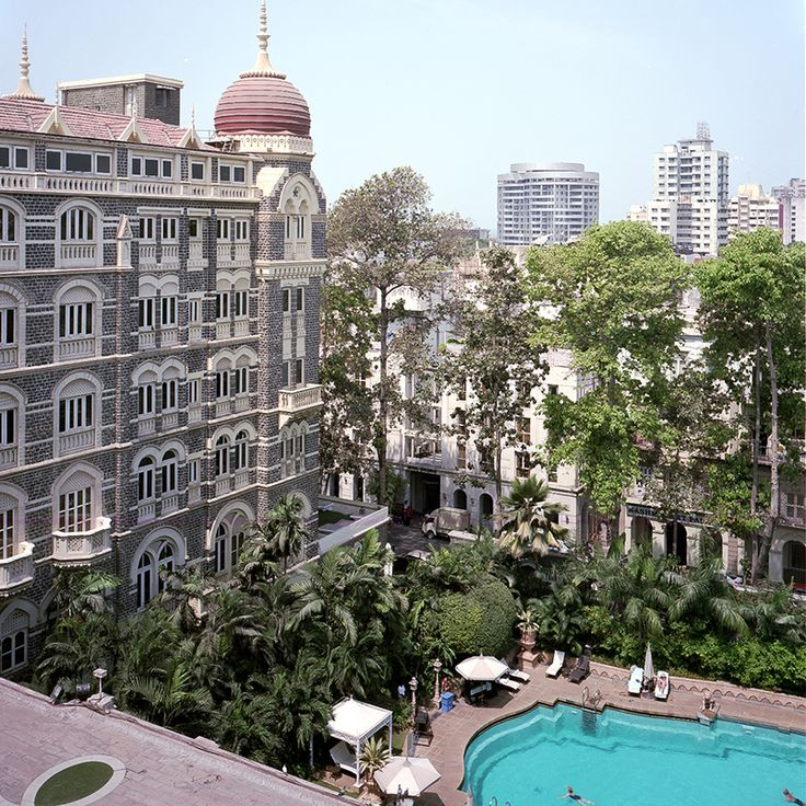 """When you're swimming below the fantastic Victorian cupola of the hotel, a congregation of pigeons above you, the world feels better than it should."" —Gary Shteyngart on the The Taj Mahal Palace & Tower in Mumbai"