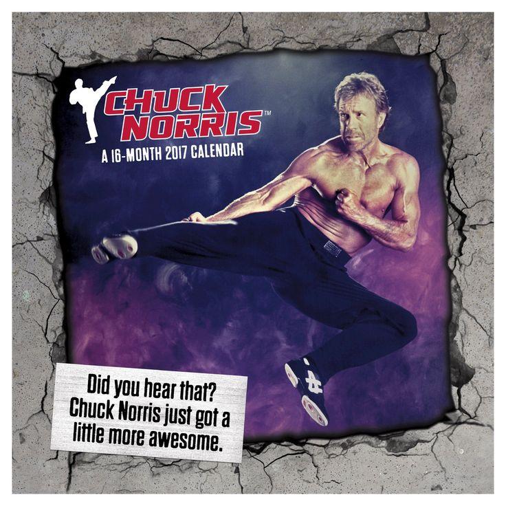 Chuck Norris 2017 Calendar (Paperback)