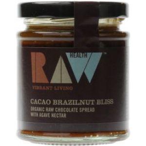Mixul de cacao si unt din nuci braziliene e obtinut din ingrediente crude, care nu au fost procesate la temperaturi mai mari de 44˚C.