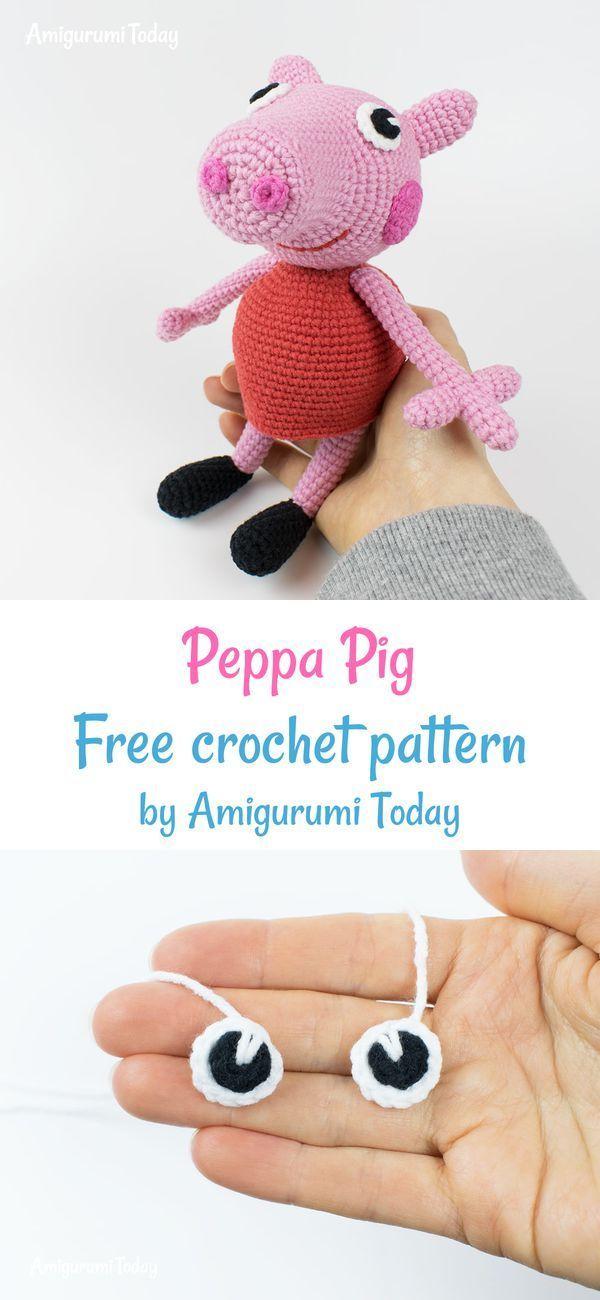Amigurumi Peppa Pig   Crocheted Peppa Pig, made with 1.0mm h…   Flickr   1300x600