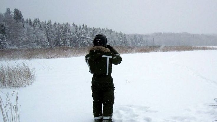 Illegal border crossing RUS-FIN. Syrian men brave North Karelia's freezing cold in asylum bid via @YLE