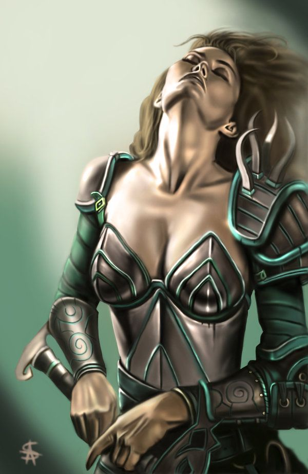 Aribeth - Neverwinter Nights by TheSig86.deviantart.com on @DeviantArt
