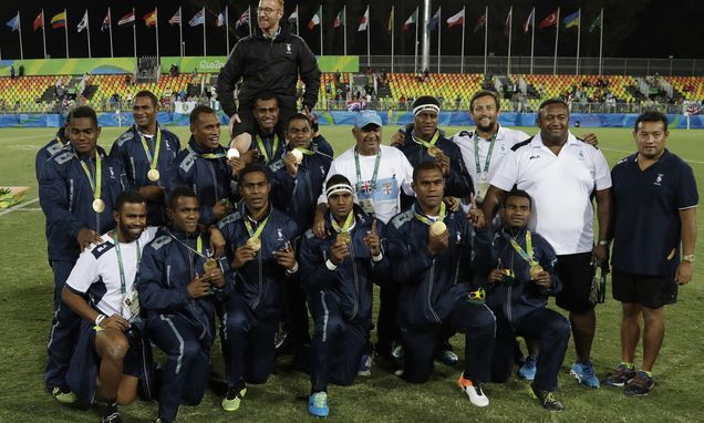 Fiji rugby coach Ryan ponders walking away on Rio gold high - Daily Mail
