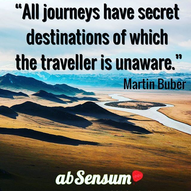 """""""All journeys have secret destinations of which the traveller is unaware."""" •••••••••••••••••••••••••••••••••••••••••••••••••••••••••••••••••••••••••••••••••••••••••• ••••••••••••••••••••••••••••••••••••••••••••••••••••••••••••••••••••••••••••••••••••••••••  JOIN NOW the #EmotionalTravellers of #abSensum and discover how to #travel in an emotional way-->> https://www.facebook.com/groups/emotionaltravellers.en/"""